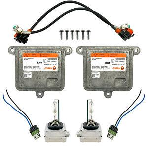 2x OEM 15-20 GMC Yukon Xenon Ballast Control Unit Module HID D3S Light Bulb Kit