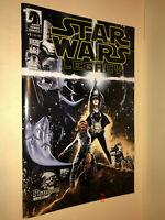 STAR WARS LEGACY volume 2 #1 PHANTOM variant COVER comic book ANIA organa SOLO