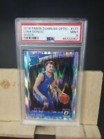 2018/2019 LUKA DONCIC Panini Donruss OPTIC SHOCK WAVE #177 Rookie Card PSA 9 🏀