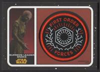 2019 Star Wars Journey to The Rise of Skywalker Patches Supreme Leader Snoke