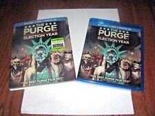The Purge: Election Year - Blu-Ray+DVD+ Digital HD - ] New +