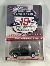 Collectors Nationals 19th Convention Hot Wheels Dinner 1981 DeLorean Dmc-12