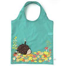 Sass & Belle Foldable Reusable Eco Friendly Shopping Bag Hedgehog