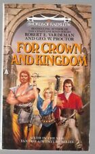 FOR CROWN AND KINGDOM Swords of Raemllyn #6 by Robert E. Vardeman