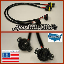 2x 5202 H16 9009 Wire Harness HID Ballast Stock Socket HID Conversion FOGLAMPS