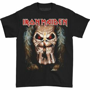 ** Iron Maiden Eddies Finger up the Irons T-Shirt Official **