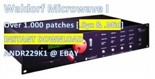 Waldorf MicroWave I - Over +1.000 Patches - INSTANT D0WNLOAD LINK