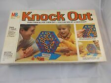 Knock Out Game Push Them In Pop Them Out Complete Milton Bradley 1978