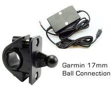 NEW Garmin Nuvi GPS Motorcycle Bike Handlebar Mount & Hardwire Charger Cable KIT