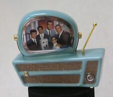 My Three Sons Music Box Franklin Mint Porcelain Retro MCM TV Tunes Collection