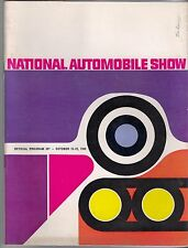 1960 43rd National Automobile Show Official Program Cobo Hall Detroit GMC Ford