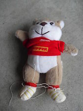 "RARE Herr's Potato Chips Chipper Bear Doll 6"" Tall"