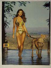 2012 Swimsuit Model Irina Shayk In A Bikini Magazine Page Photo Ad Sexy Nice