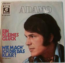 """ADAMO - EIN KLEINES GLÜCK - ICH LIEB'DICH - EMI COLUMBIA  [F96] 7""""SINGLES"""