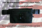 The All American TOMMY'S GUN CONCEALMENT FANNY PACK -You get 5(SMALL) PACKS
