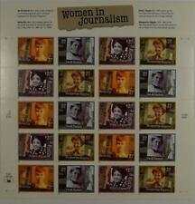 US SCOTT 3665 - 3668 PANE OF 20 WOMEN IN JOURNALISM 37 CENTS FACE MNH