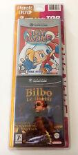 Jeu Nintendo gamecube DOUBLE PACK Billy Hatcher + Bilbo le hobbit NEUF blister
