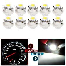 5Pcs B8.5D Car Gauge T5 smd LED Dashboard Instrument Cluster Gauge Light White