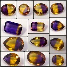 Faceted Ametrine Cut Gemstone Free Shipping NG12386-12421NRM12407,13508-13509