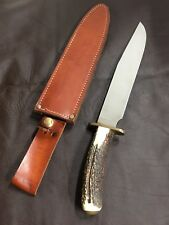 Vintage Cold Steel Knives STERILE Trail master Stag Pre Production Prototype