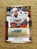 Upper Deck NHL - 2014-15 Jarad Staal Signature Sensations - SS-ST - PI1-2
