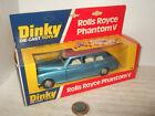 Rare Vintage Dinky Toys 124 Rolls Royce Phantom V in Original Dinky Box
