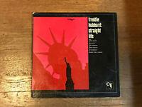 Freddie Hubbard LP - Straight Life - CTI 6007 Stereo