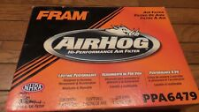 Fram Air Hog Reusable PPA6479 CA6479 Air Filter Similarto K&N 250k miles fits GM