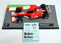 DECALS Michael Schumacher Ferrari F2002 Marlboro 1:43 Formula 1 Car Collection