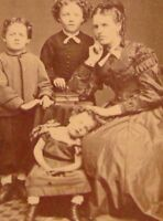 Antique Post Mortem Photo 107 Oddleys Strange & Bizarre