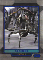2012 Topps Star Wars Galactic Files Blue Parallel #317 Droideka 186/350