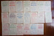 More details for 1949 western region railway handbills timetable x20 ref b34