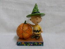 Jim Shore Peanuts Its Halloween Charlie Brown Snoppy Woodstock Figurine 4045889