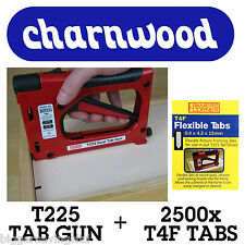 CHARNWOOD TAB DRIVER T225 C/W PACK OF 2500 T4F TABS