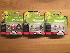 Nintendo Micro Land, Zelda the windwaker, set of 3 x 3 figures