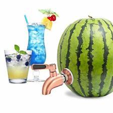 More details for stainless steel watermelon keg tap kit, leakproof, no clog, pumpkin fruit keg