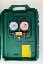 Refco Gylcerin Filled Refrigeration Gauge Manifold Set With Carry Case New 3