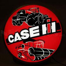 """Case Ih International Harvester Back Lit Led Sign - Farm - Tractor - Lamp - 15"""""""