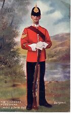 """The Sherwood Foresters - Sergeant "" Tuck Oilette Postcard"