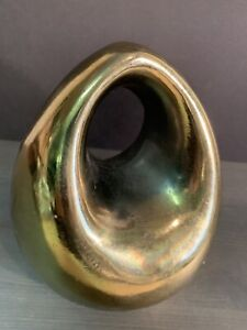 Ben Seibel Brass Bookend Raymor Jenfred Tear Drop No Reserve