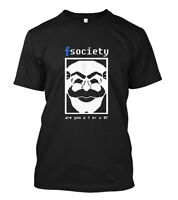 Mr Robot FSociety - Are You a 1 or a 0 TV HACKING HACKER QUOTE GEEK Size S - 5XL