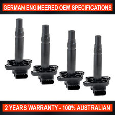 Set of 4 Brand New Ignition Coil for Audi A3 A6 A8 RS6 S3 S6 S8 TT 1.8L T 4.2L