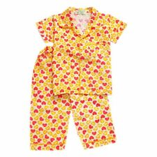Woven B/D Heart Print #1040 Pajama Set Girls Kids Sleepwear, 2XL (8-10 y/o)
