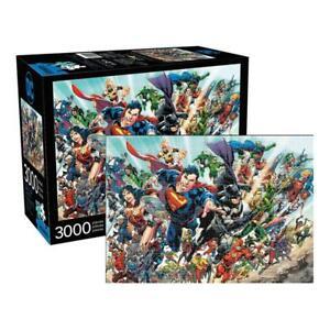 AQUARIUS DC Comics Puzzle Cast (3000 Piece Jigsaw Puzzle) - Officially Licensed