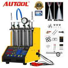 AUTOOL CT150 Car Motor Ultrasonic Petrol Fuel Injector Cleaner Tester 4 cylinder