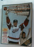 Vintage Hockey Huge NHL 2003 Official Guide & Record Book STEVE YZERMAN Cover