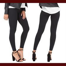 NEW $68 SPANX 'Look at Me Now' Seamless Leggings in Black [SZ Medium ] #C910