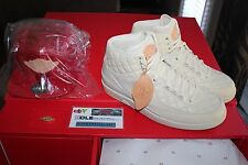 Deadstock Air Jordan 2 x Just Don Beach Leather Crown Strapback Hat Size 11