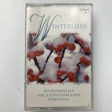 Winterlude Volume 8 Instrumentals for a Contemplative Christmas (Cassette)