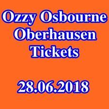 Tickets - OZZY OSBOURNE - OBERHAUSEN - Innenraum Stehplätze - 28.06.2018